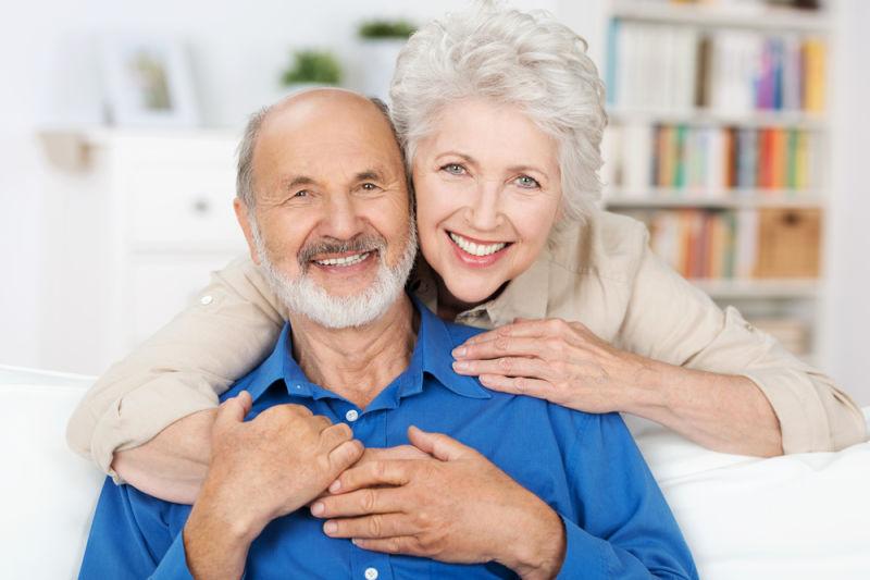older couple | dental implants worcester